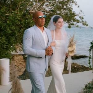 """Paul Walker 女儿结婚了!Vin Diesel """"代父职""""送她出嫁!"""