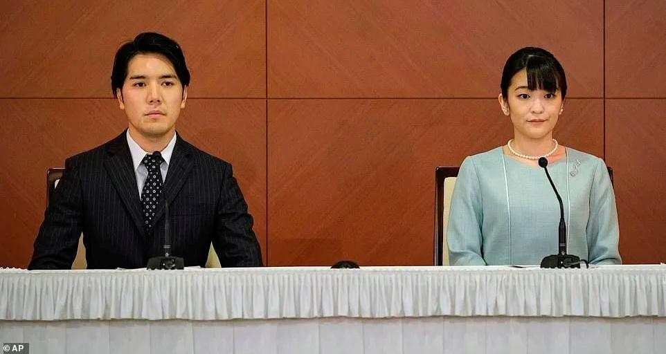丑闻不断,压力大到患PTSD,日本真子公主最终嫁给了那个充满争议的男人