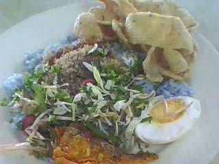 緣食這餐:Nasi Kerabu(吉兰丹州美食)
