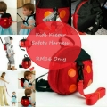 Anti-lost Toddler Safety Harness Backpack – Ladyb