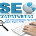 SEO content writing packages