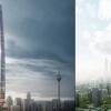 Gambaran Menara New Tradewinds Square, Projek Dalam Peringkat 'Proposal'. Lagi Tinggi dari KLCC