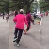 Netizen Kutuk Mak Cik Zumba 'Rakus' Kejar Pemuda Sedang Joging Di Taman Rekreasi