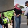 Garang Sangat Tengking Polis Di SJR, Wanita Kini Disiasat Polis Sabah