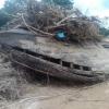 Bangkai Kapal Tahun 1800 an Timbul Selepas Banjir Lipis