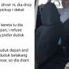 """""""Konon Tak Suka Pondan"""" - Lelaki Berpakaian Perempuan Diminta Turun Dari Grab Car"""