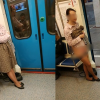 Angkat Skirt, Buka Seluar Dalam Dengan Harapan Dapat Tempat Duduk Dalam Tren