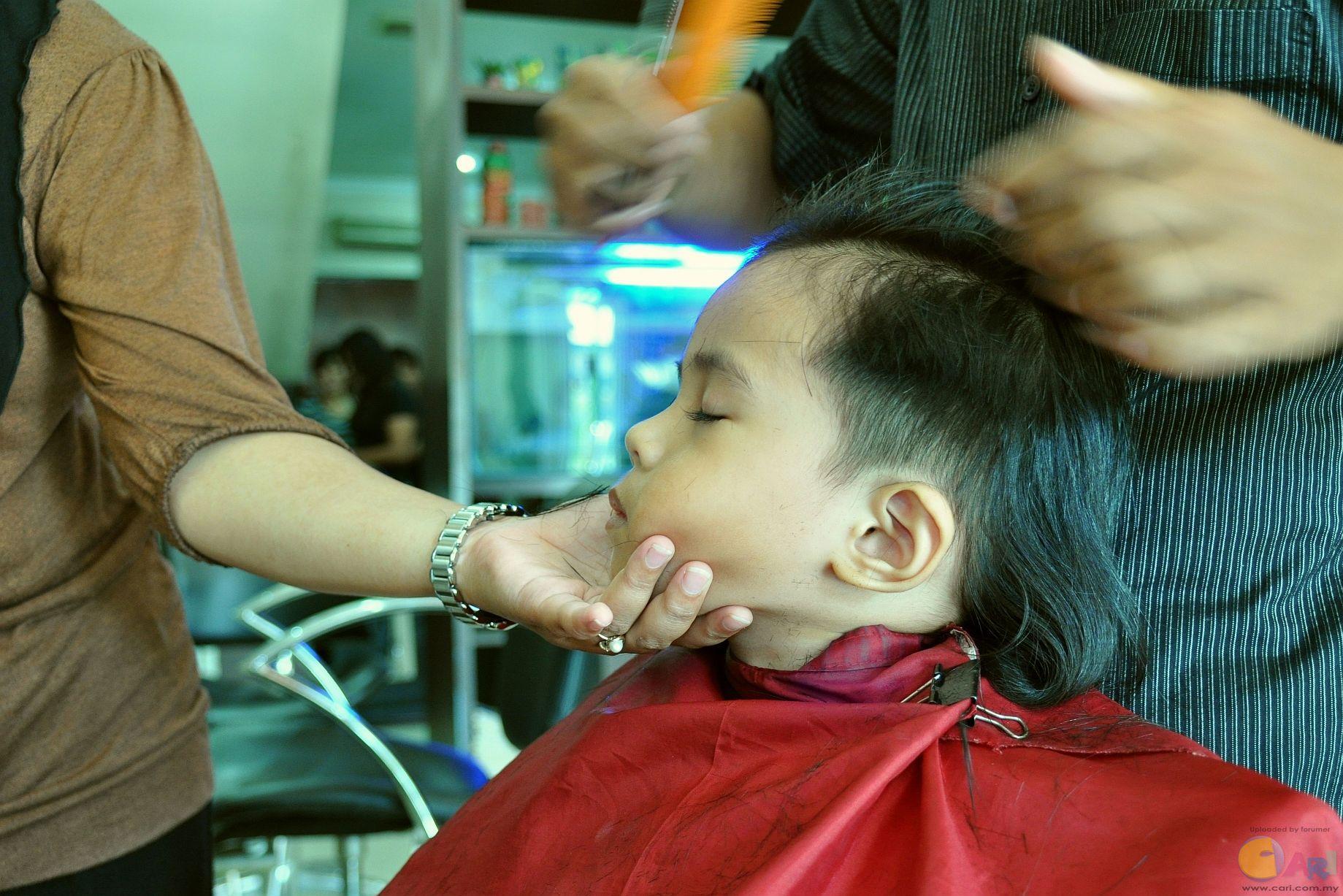 Angah_Haircut