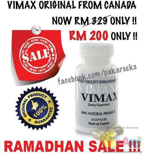 vimax pills terbaik original from canada rm200 dealer