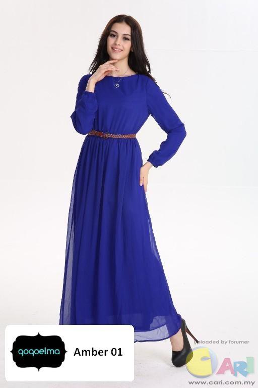 Maxi dress terbaru dan murah hati