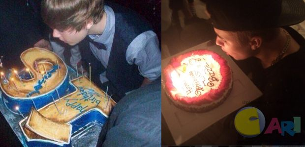 Superb Justin Bieber Birthday Cake At 16 At 20 Entertainment Cari Funny Birthday Cards Online Elaedamsfinfo