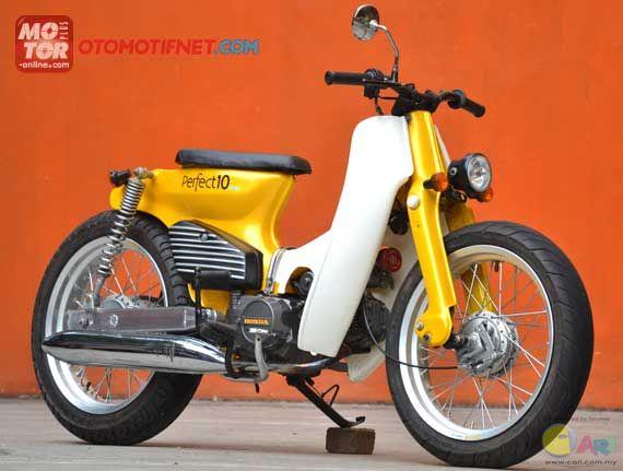 Mencari Kaki Street Cub Honda C Series