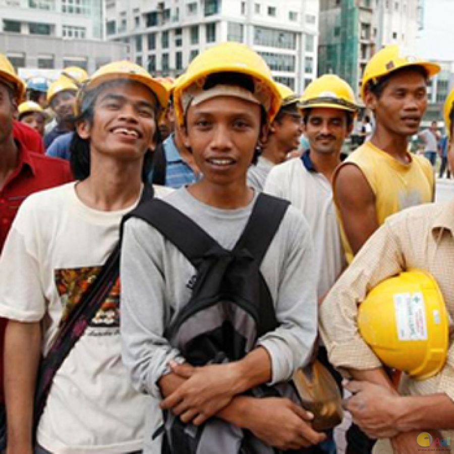influx of migrant workers is not
