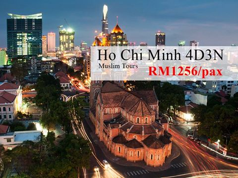 Pakej percutian muslim ke ho chi minh 4h3m murah - Vietnam airlines kuala lumpur office ...
