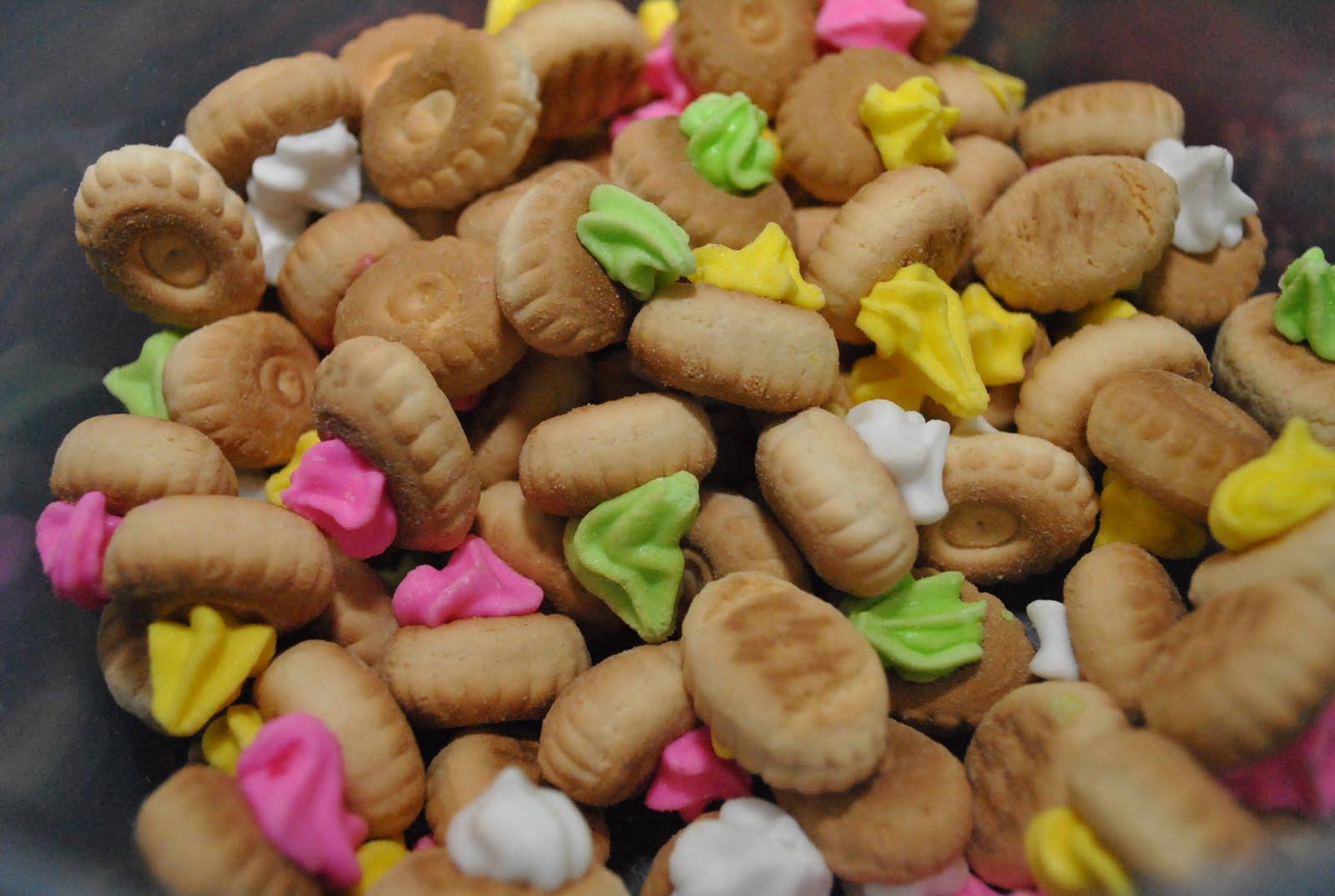 biskut gula ising