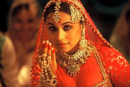 Rani wearing Anarkali Salwar