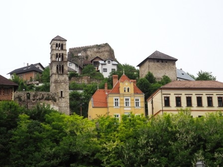 Kota2 bersejarah di Jajce