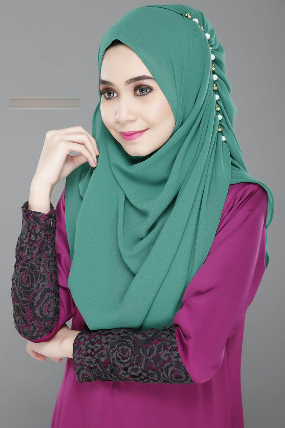 Exclusive Tudung Instant Shawl Design Terkini 2016