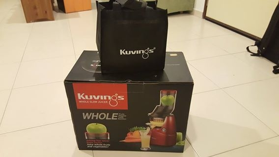 Kuvings Whole Fruit Slow Juicer Harvey Norman : Brand new Kuvings Slow Juicer for Sale - JualBeli - Shop Online/Classifieds - Forum - CARI Infonet