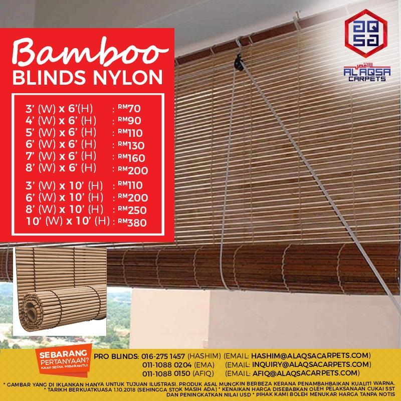 Alaqsa-Carpets-at-DKebun-Commercial-Centre-Murah-Bamboo-Blinds-NYLON #AlaqsaCarp.jpg