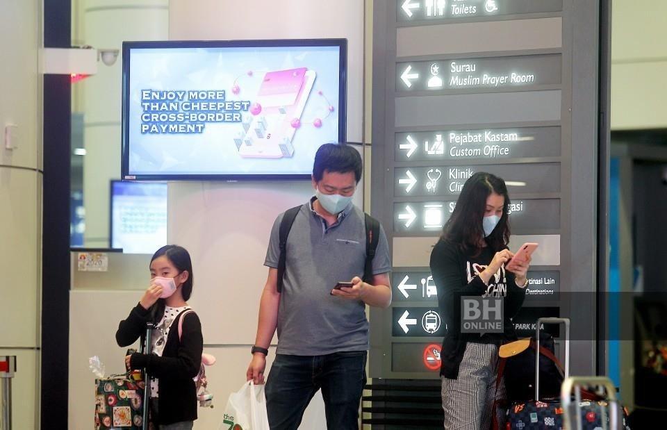 MAHB bekerjasama rapat dengan Kementerian Kesihatan bagi memeriksa penumpang antarabangsa di lapanga ...