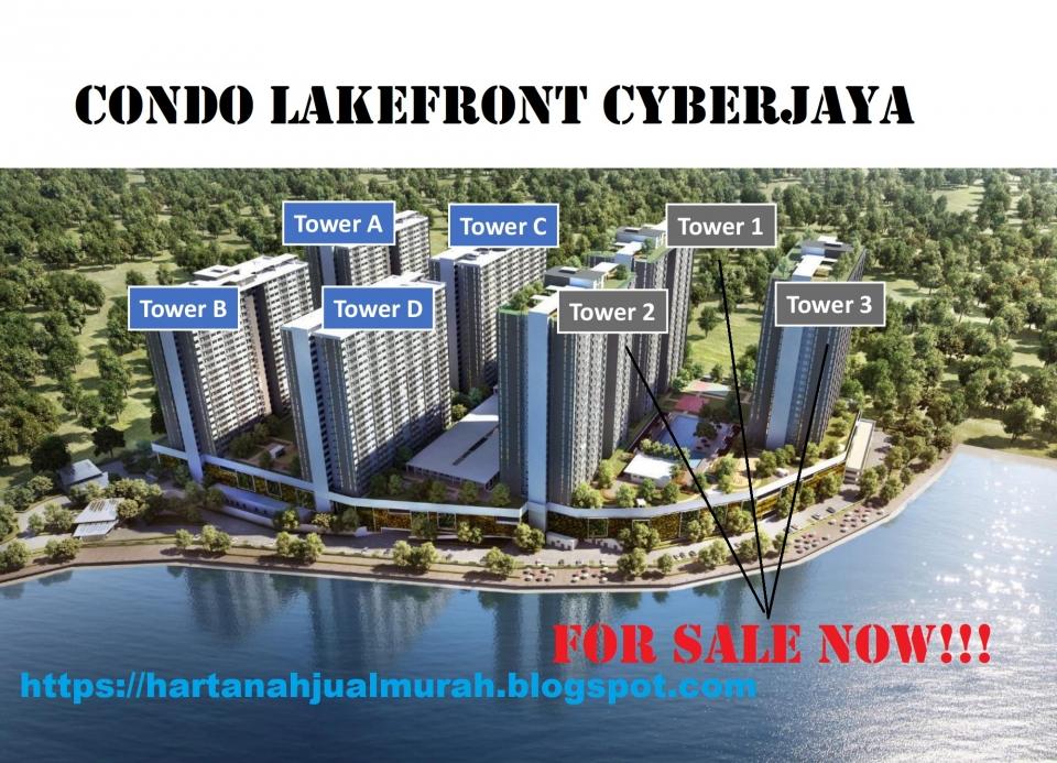 Lakefront Homes Cyberjaya