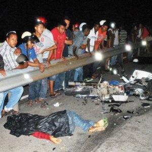 Edisi Seram : Penunggu  tagih darah di Jalan Raya