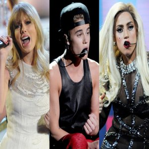 Highest-Earning Under 30 : Lady Gaga, Justin Bieber and Taylor Swift