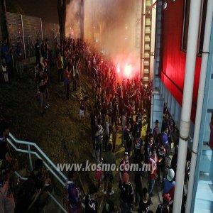 Penyokong Johor Cetus Kekecohan