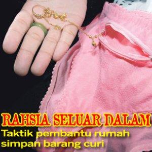 habis barang kemas RM185,000 'dikemas' amah Indonesia