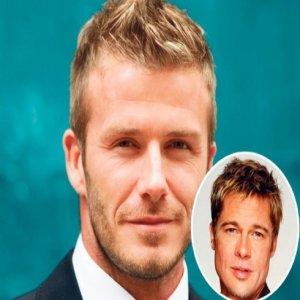 Beckham Pilih Brad Pitt