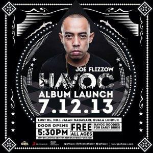 #Havoc Album Release Party! At Lust KL