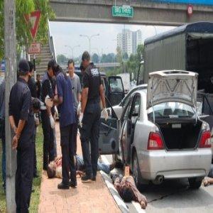 Polis Tembak Mati Penjenayah Amat Dikehendaki