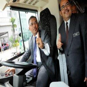 Perkhidmatan Percubaan Bas Elektrik Di Melaka Rabu Ini !
