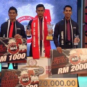 Hanif Safuan Pemenang Pencarian Lelaki Maskulin 2013/2014!