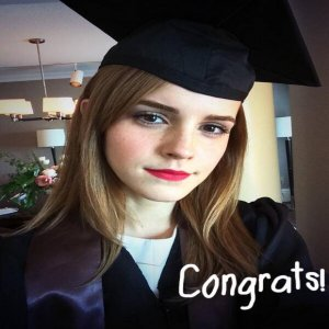 Emma Watson terima Ijazah