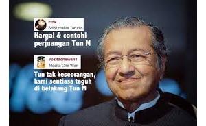 'Tun M, Kamu Tidak Berseorangan' - Che Ta & Dato Ct