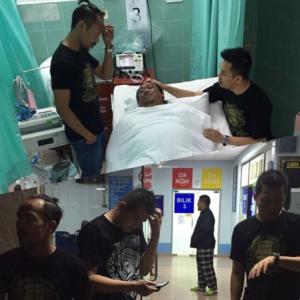 Rahim Dikejarkan Ke Hospital Selepas Konsert Bersama Sepahtu