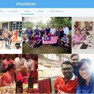 Masih Ramai Sayangkan Malaysia, #muhibbah!
