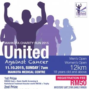 Mahkota Charity Run 2015