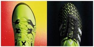 adidas LANCAR BUT Bola Sepak X & ACE