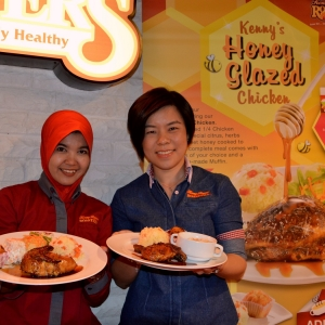 RASAI KEMANISAN KENNY's HONEY GLAZED CHICKEN !