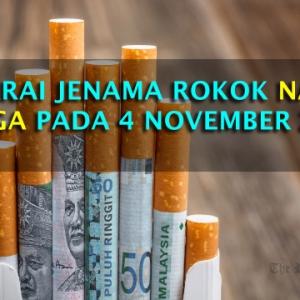 Harga Rokok Naik Lagi Sehingga RM18 Sekotak,  Apa Kata Anda?
