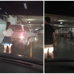 Kerana Berebut Parkir, Serlah Kebodohan Diri