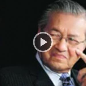 Video Dana Politik Tun Mahathir Jadi Viral