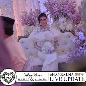 Tahniah! Anzalna Nasir, Haniff Zaki Selamat Diijabkabul