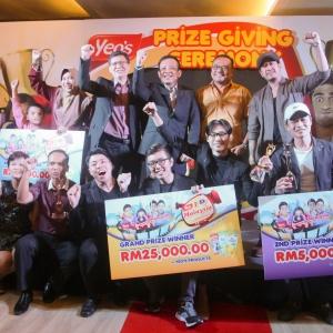 "Majlis Penyampaian Hadiah Peraduan Video ""Yeo's, I Love Malaysia"""