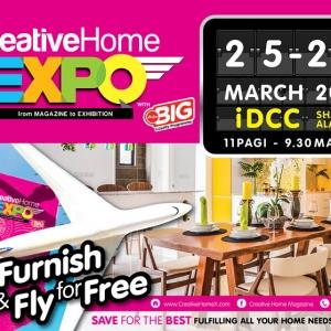 [EXCLUSIF!!!] CreativeHome Expo Kembali Lagi Secara Besar-besaran Tahun ini