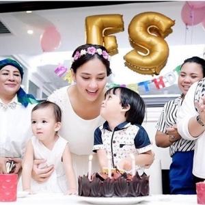 Bagaikan Puteri! Fasha Sanda Di Majlis Sambutan Hari Lahir Ke-32
