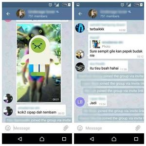 Screenshot WhatsApp Group Pedofil Malaysia Timbulkan Kemarahan Ramai